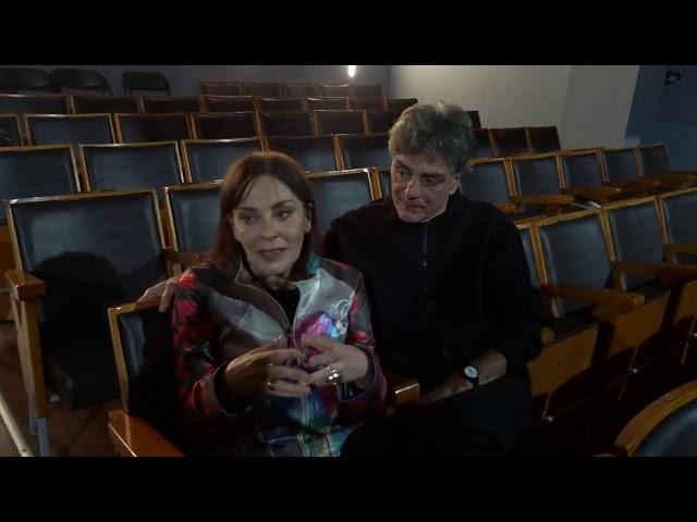 Βάνα Πεφάνη - Μηνάς Βιντιάδης - Συνέντευξη - Κάτω Παρθενώνας stellasview.gr