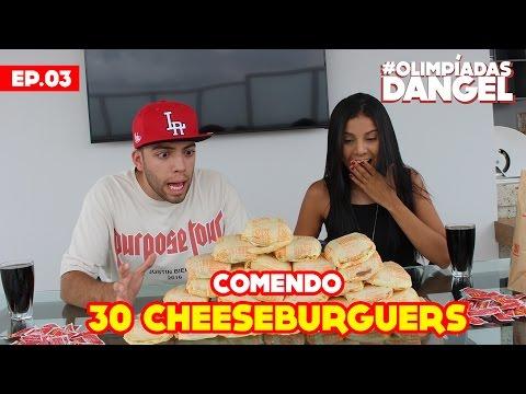 #OlimpíadasDangel - DESAFIO DOS 30 CHEESEBURGUERS | Episódio 03