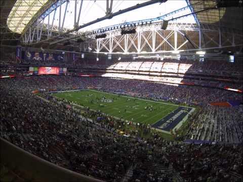 Super Bowl XLIX time lapse