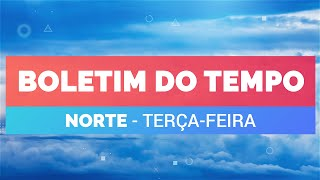 Previsão Norte – Risco de temporais em Boa Vista e Belém