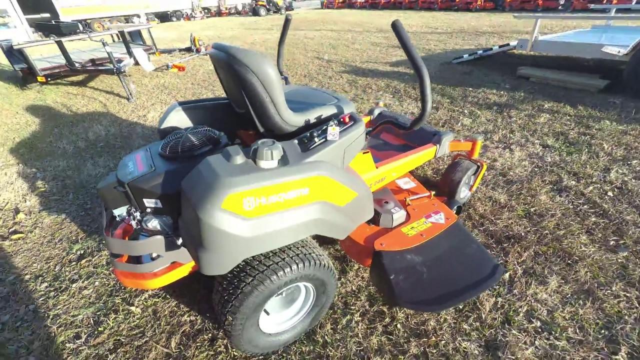 Husqvarna Z248F Fab Deck 23HP Kawasaki Zero Turn Lawn Mower 48