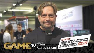 Game TV Schweiz - Steen Albrechtslund | CEO FITNESS WORLD | SWISS SIMRACING SERIES