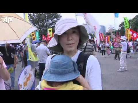 Mass Japanese Anti-nuclear Rally in Tokyo