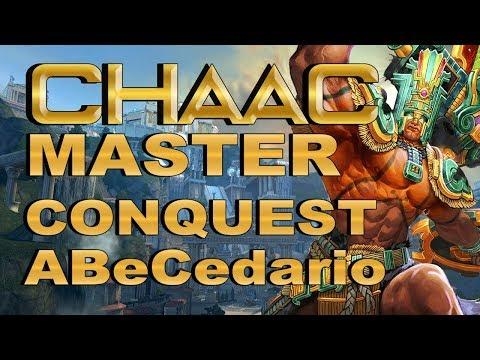 SMITE! Chaac, Buscando el early hasta en conquest :D! Master Conquest Abecedario S4 #23