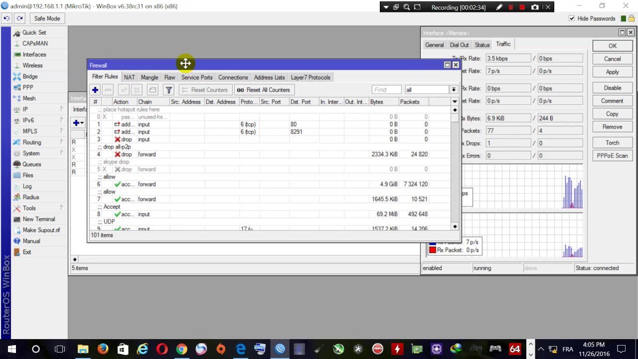 Mikrotik pppoe client configuration + Router in bridge mode