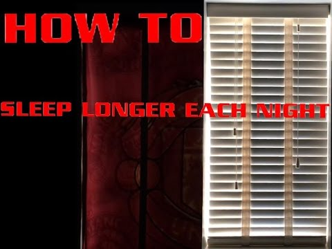 How To Stop Light Coming Through Your Blinds In The Morning