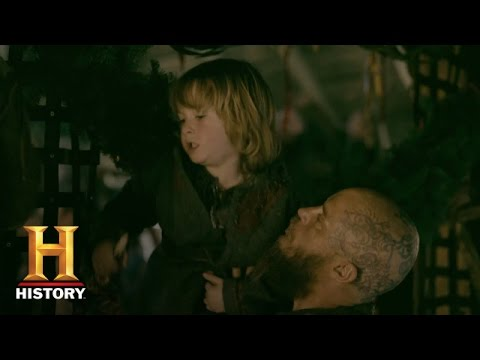 Vikings: Ragnar and Aslaug Fight Over Ivar -  Sneak Peek (Season 4, Episode 4) | History