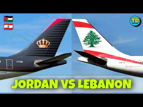 Royal Jordanian Airlines VS Middle East Airlines Comparison 2020! ( Jordan vs Lebanon )