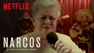 Narcos | Clip: Paquita la del Barrio Sings to Pablo Escobar | Netflix