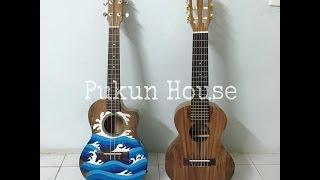 (DIY Ukulele Stand) Tự làm giá để ukulele siêu dễ