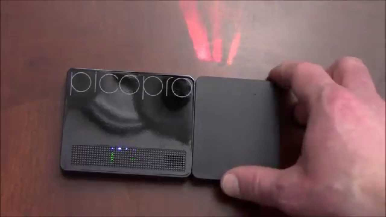 49a51deaea7799 Celluon PicoPro HD Laser Pico Projector Unboxing - YouTube