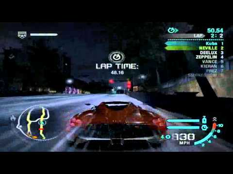 need for speed carbon pagani huayra - youtube