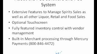 View this first - overview of comcash for wa liquor store