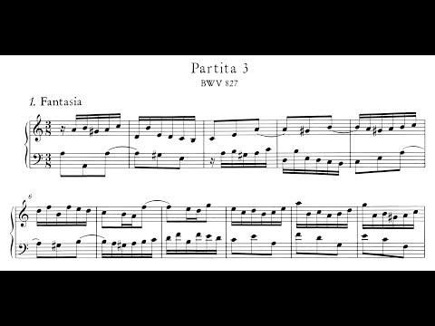 Bach: Keyboard Partita No.3 in A Minor, BWV 827 (Blechacz, Anderszewski)