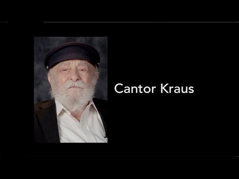 Ottawa Holocaust Survivors Testimonial 2016: Cantor Kraus