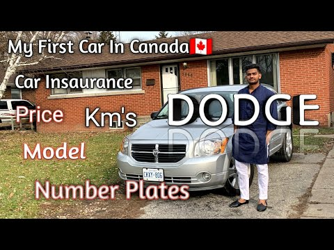 My First Car In Canada🇨🇦 || Price || Model || Number Plates || Ontario || Windsor
