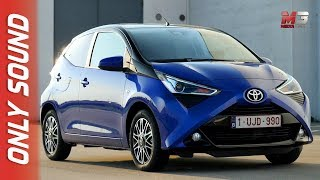 New toyota aygo 2018 - first test drive only sound