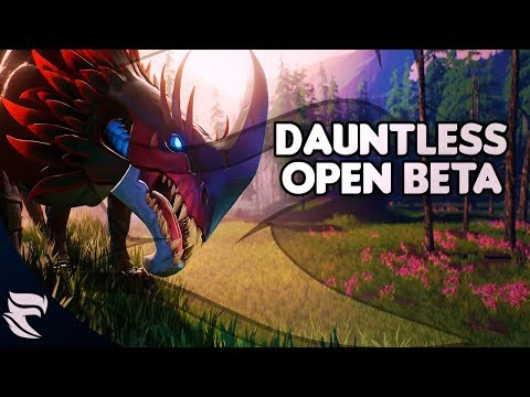 Dauntless: Open Beta Starts May 24th Should you pick it up?