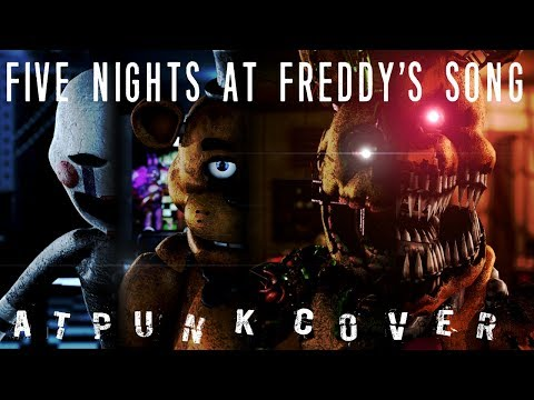 [C4D/FNaF] Five Nights At Freddy's Song [Cover By Atpunk] | Crikay8