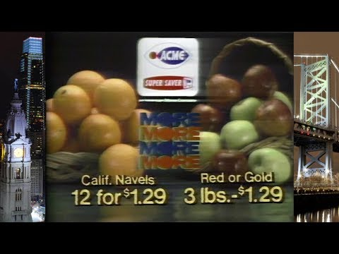 Delaware Valley Commercials 1979-82