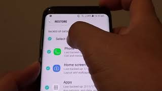 Samsung Galaxy S8: How to Restore From Backup on Samsung Cloud