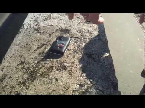Androidportal.hu: Sony Ericsson Xperia Active stressz teszt