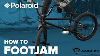 Footjam decade tutorial | BMX Tricks Lessons | Pravin Habib