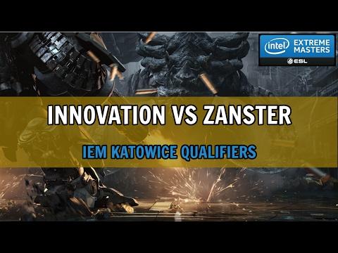 INnoVation vs Zanster - TvZ - IEM Katowice 2017 European Server Qualifier