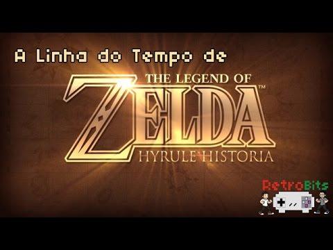A Linha do Tempo de Zelda DUBLADO