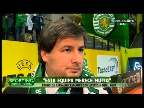 Futsal :: Inter Movistar - 0 x Sporting - 1 de 2014/2015 Uefa Futsal Cup - 3 jogo