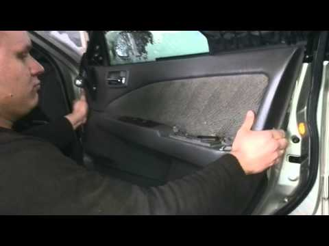 Снятие обшивки двери Toyota Corona Premio