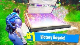 Opening the secret Bunker in Fortnite Battle Royale-what's inside? (Season 4-Thanos)