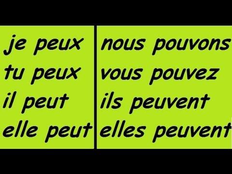 ♫ Pouvoir Conjugation Song ♫ French Conjugation ♫