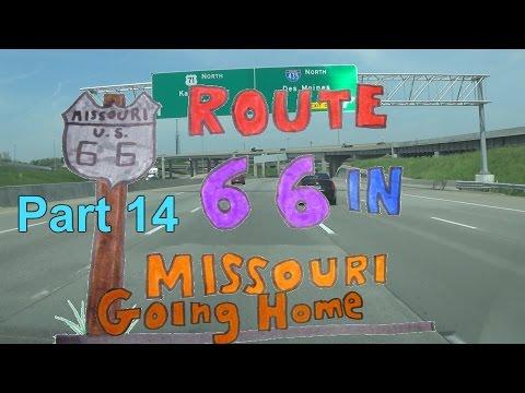 Route Of Butler To Kansas City YouTube - Route 66 youtube
