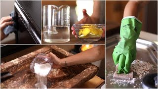 Quick/Easy DIY Green Cleaning Recipes
