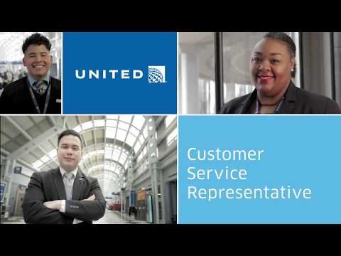 United - Day in the life: Customer Service Representative