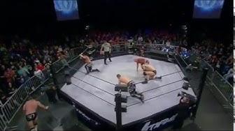 TNA: Wolves vs Angle & Galloway vs Jessie & Eli Drake