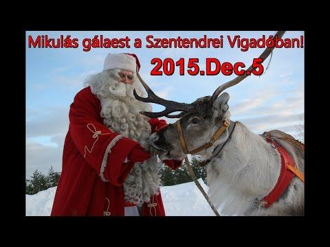 Andris - Egy szó elég-Mikulás gálaest a Szentendrei Vigadóban! 2015 Dec.5