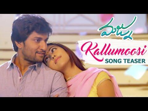 Majnu Movie - Kallumoosi Video Song Teaser - Nani || Anu Emmanuel || Priya Shri || Virinchi Varma