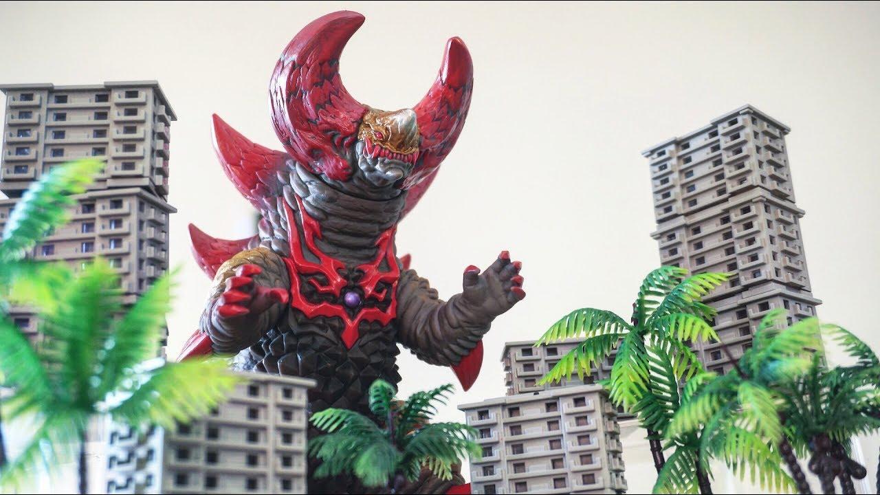 【ウルトラマンジード】怪獣もムチムチにフュージョンライズ ‼︎ ウルトラ怪獣dx スカルゴモラ ソフビレビュー★