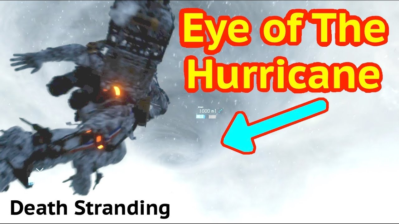 Fly To Hurricane in Death Stranding thumbnail