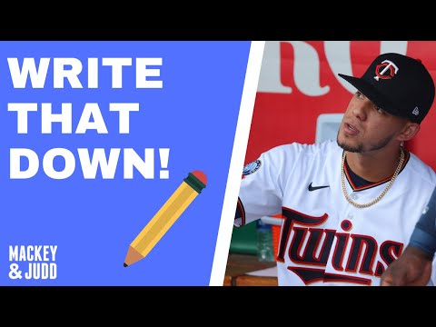Write That Down: The Twins will win the World Series!