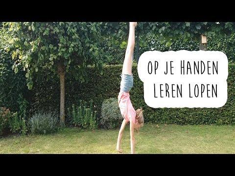Op je handen leren lopen! || gymnastics ♡