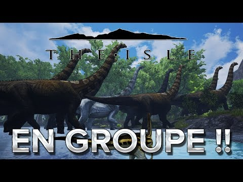 The Isle #4 : Carnivore EN GROUPE !