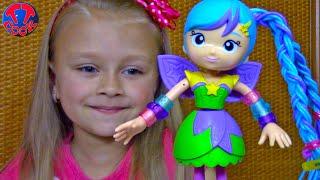 Кукла Трансформер Распаковка и Обзор Новая Игрушка - Поп Звезда Betty Spaghetty