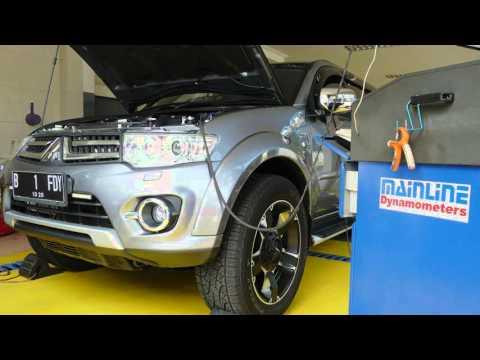 Mitsubishi Pajero Sport Dakar A/T - Dyno Test