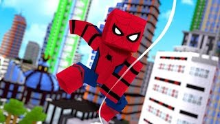 I'm a Spiderman in Roblox - Spider-Man Simulator