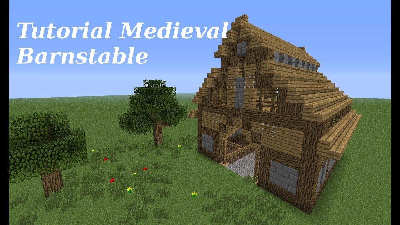 Minecraft Tutorial Medieval Barnstable