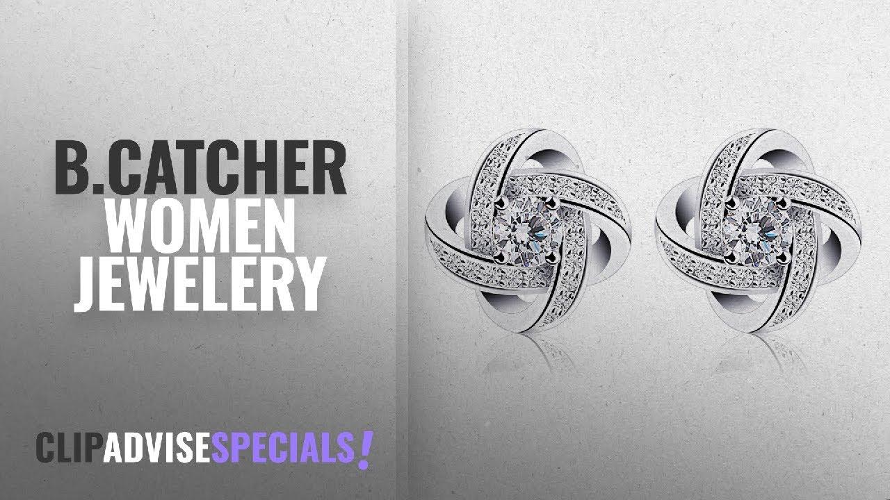 37c7fcbbe437 10 Best Selling B.Catcher Women Jewelery  2018    B.Catcher Earrings ...