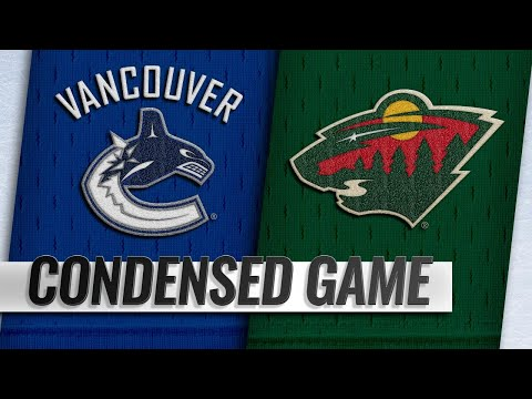 11/15/18 Condensed Game: Canucks @ Wild